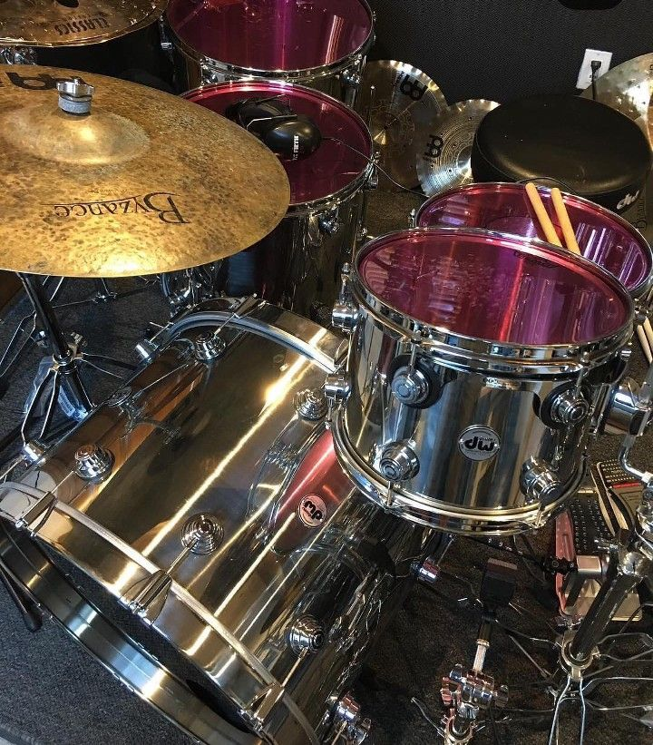 Pin by Terry Nugent on DW Drums   Drums, Dw drums, Music