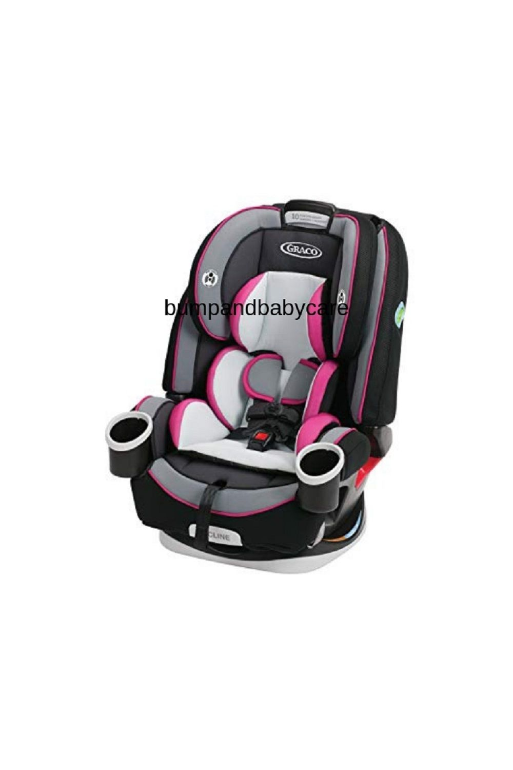Graco 4Ever 4 In 1 Car Seat Kylie 6 Position Recline Adjusts