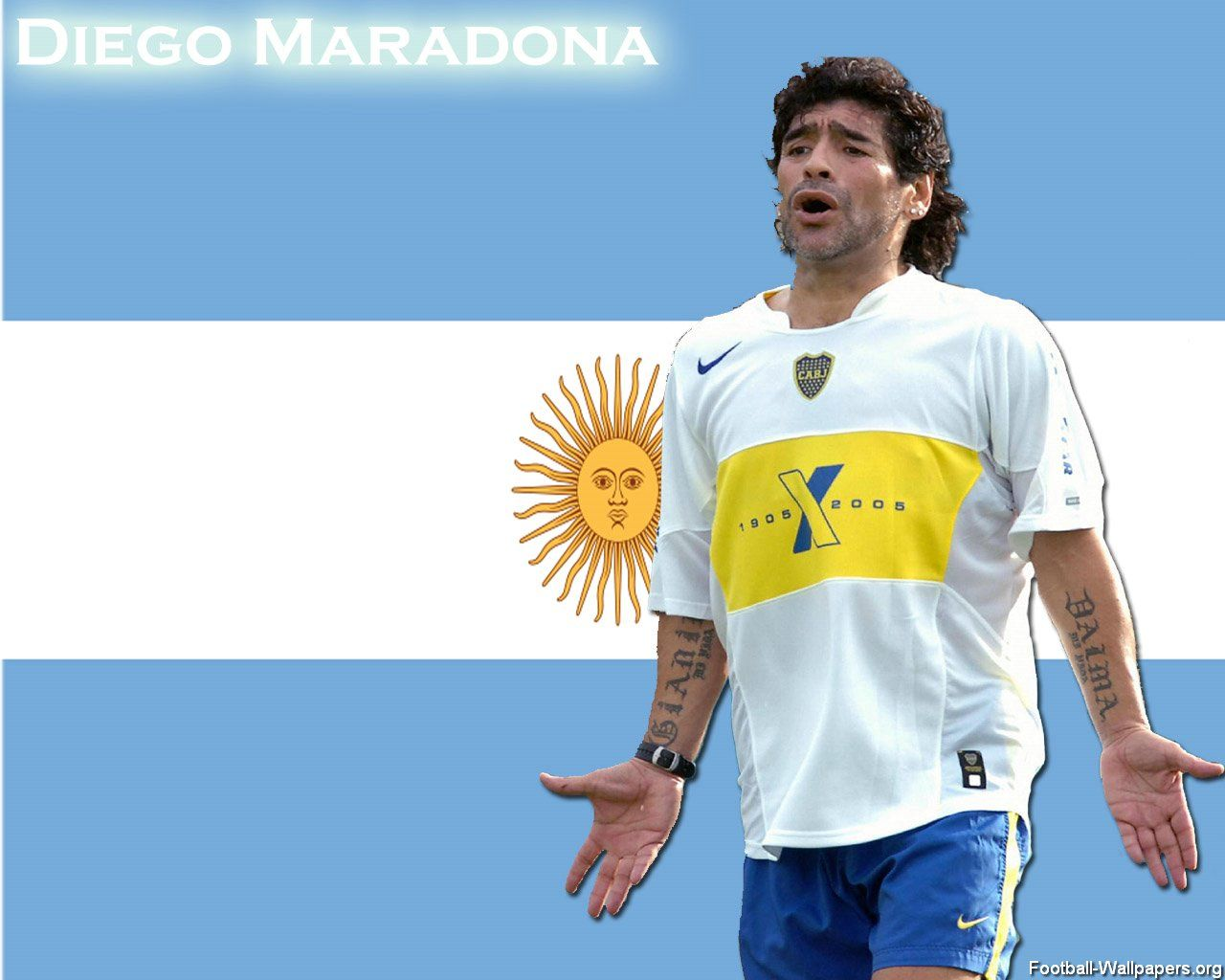 Diego Maradona Wallpaper Diego Maradona Mens Tops Mens Tshirts