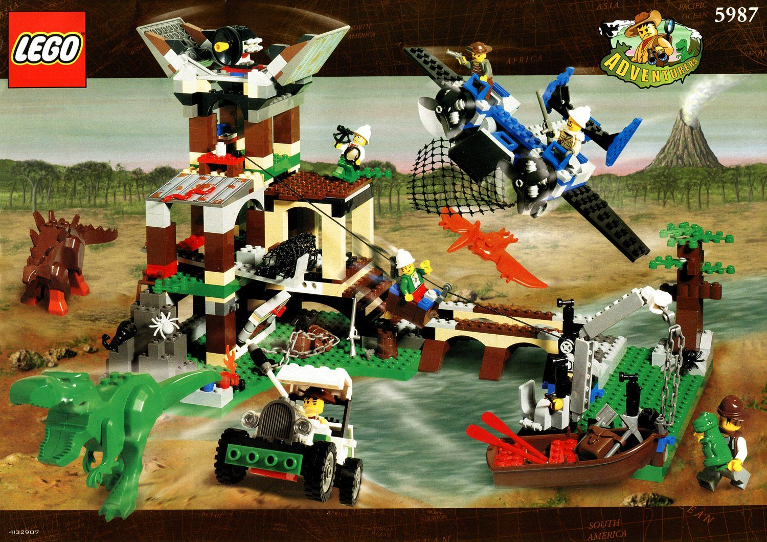 Lego dino research compound google search lego johnny thunder the back of beyond - Dinosaure lego ...
