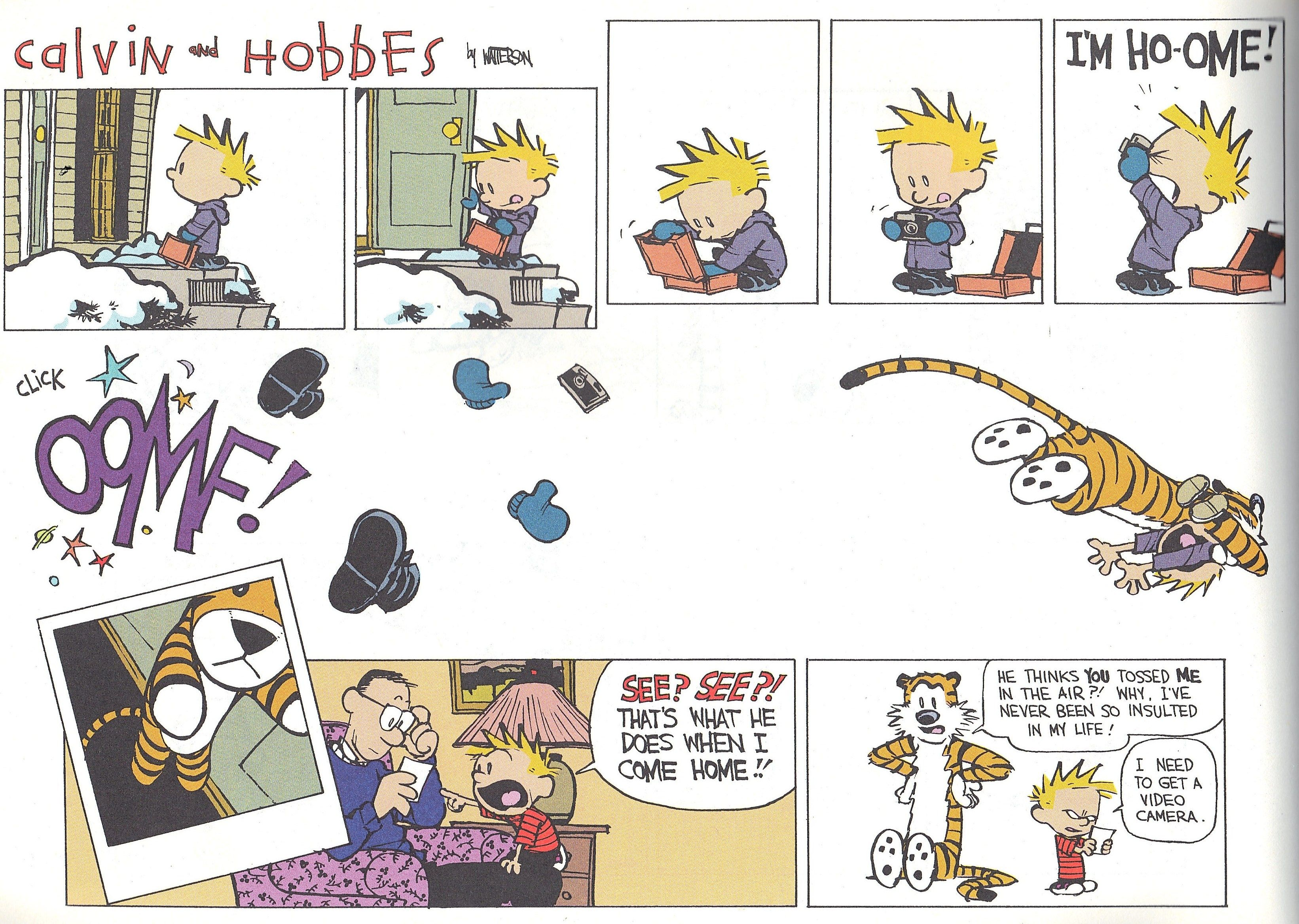 Calvin And Hobbes By Bill Watterson Calvin And Hobbes Comics Calvin And Hobbes Calvin Y Hobbes