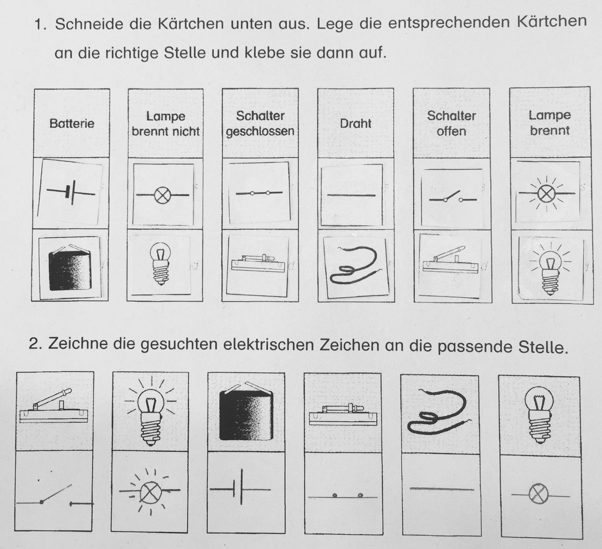 Großartig Elektrische Symbole Zeichnen Galerie - Elektrische ...