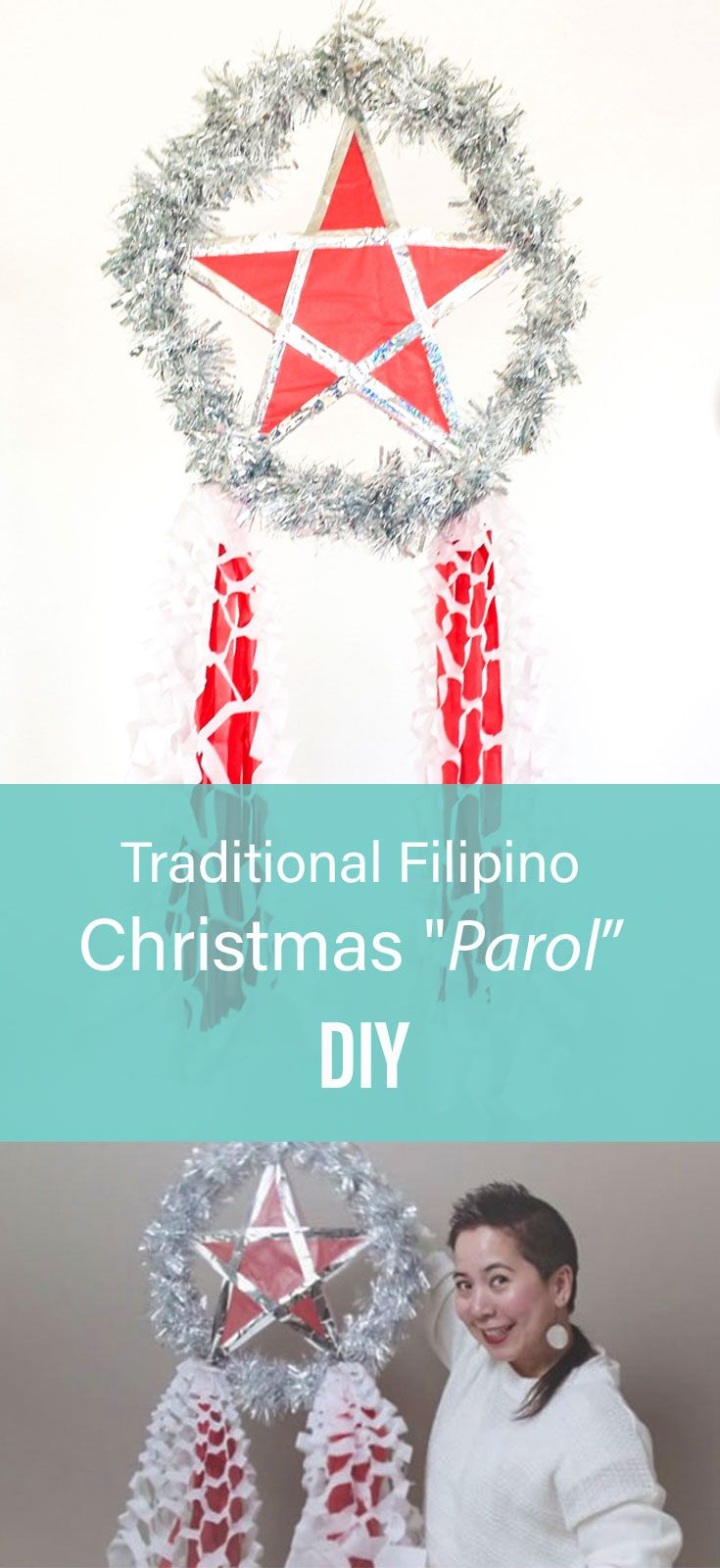 DIY Make your own traditional Filipino parol Christmas