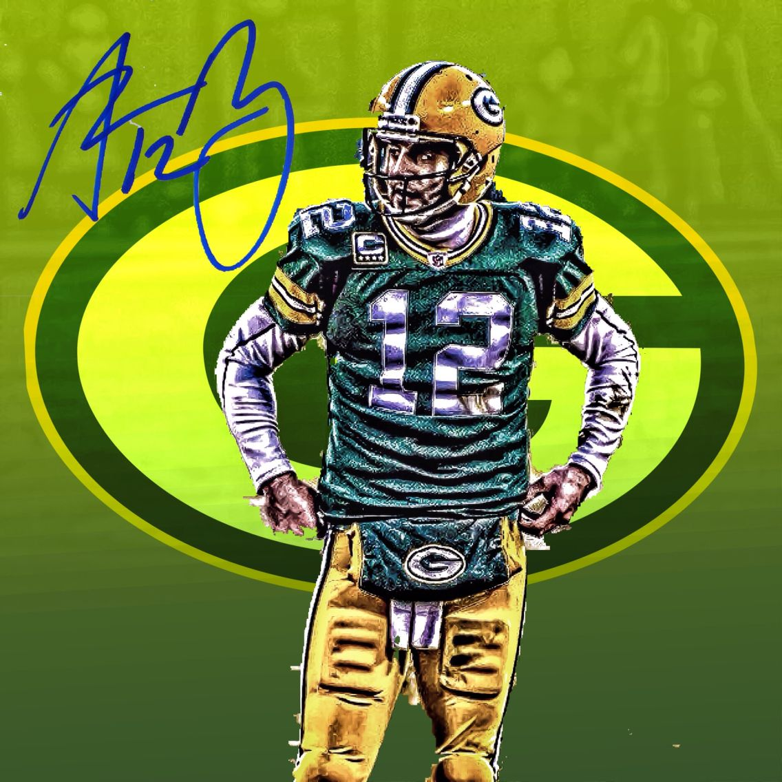 Cal Alum Aaron Rodgers Playing Quarterback For The Green Bay Packers Green Bay Packers Aaron Rodgers Green Bay Packers Green Bay