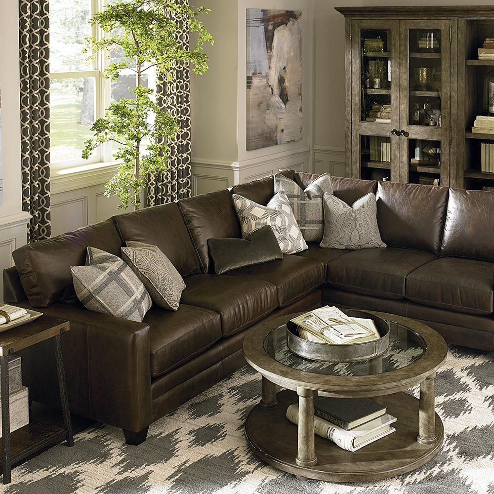 Bassetfurniture Com: American Casual Ladson Large L-Shaped Sectional