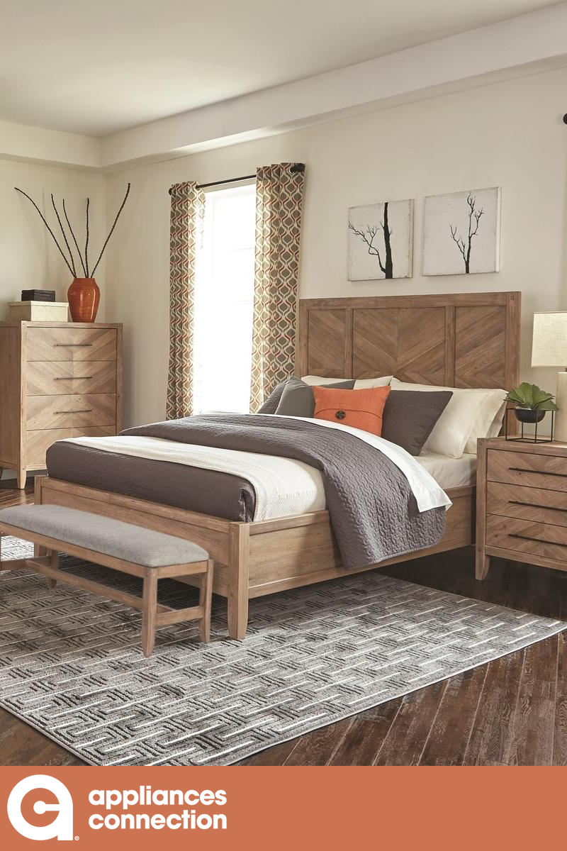 Auburn Collection 204611keset 6 Pc Bedroom Set With King Size