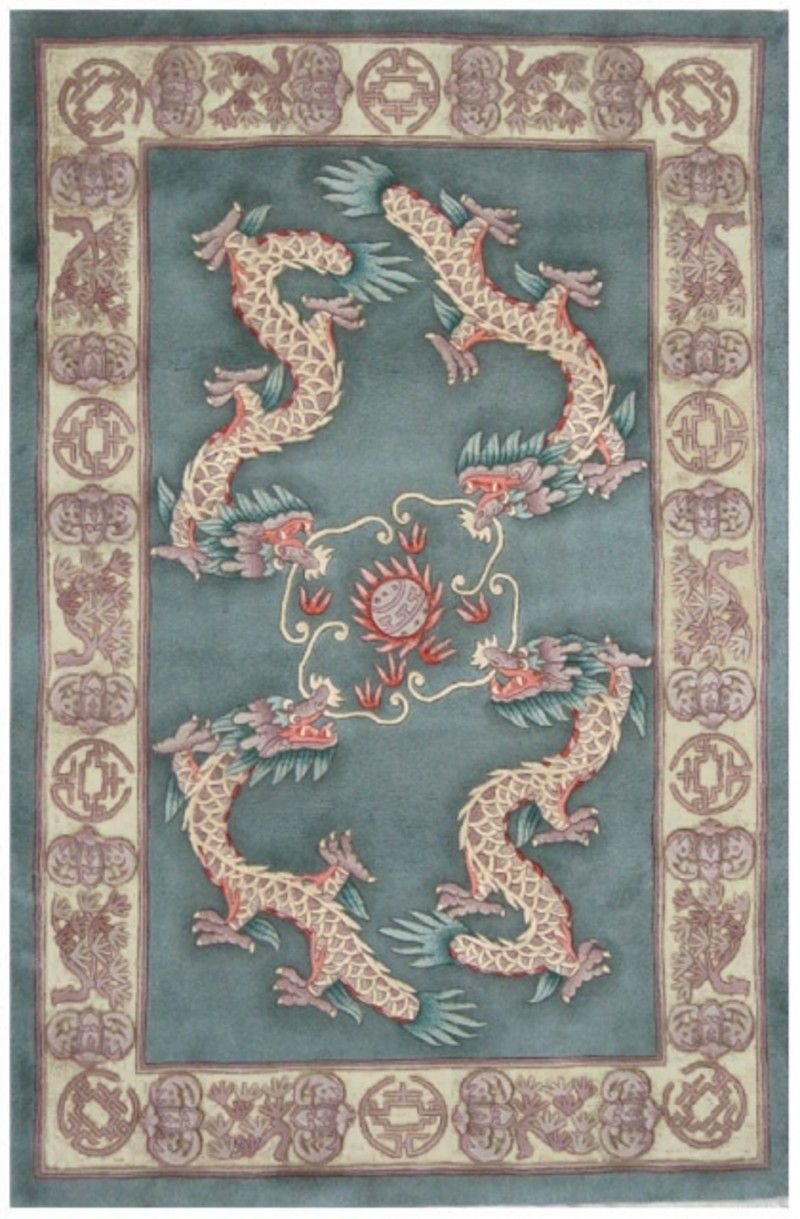 Premier Superwashed Chinese Rug Design Psw442