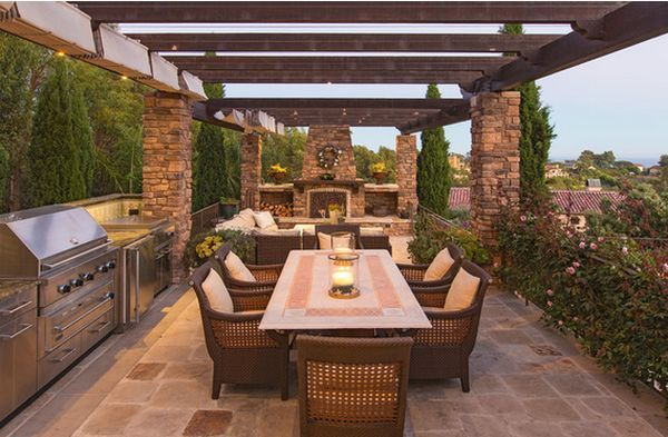outdoor kitchen pizza oven design. Outdoor Kitchen Designs Featuring Pizza Ovens  Fireplaces And Other Cool Accessories