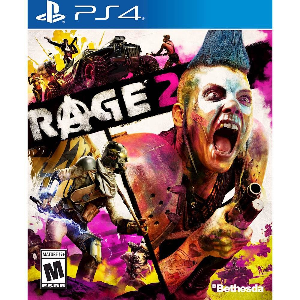 Rage 2 Standard Edition Playstation 4 Playstation 5 Ra2cstp4pena Best Buy Avalanche Studios Rage Xbox One