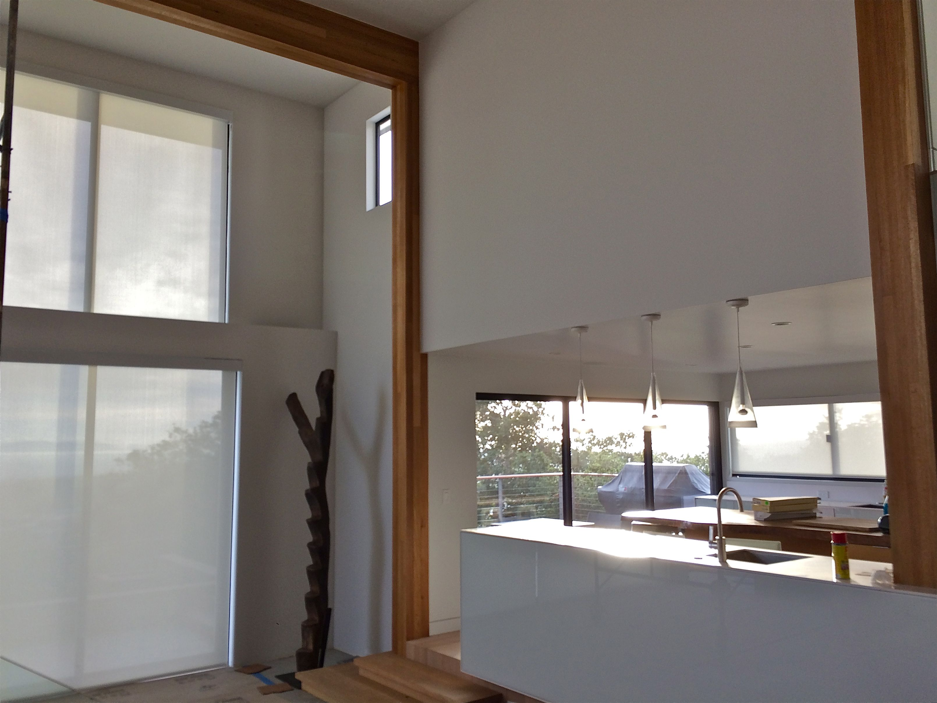 Have Huge Windows Or Doors? No Problem! Motorized Roller Shades With Fascia  Make A