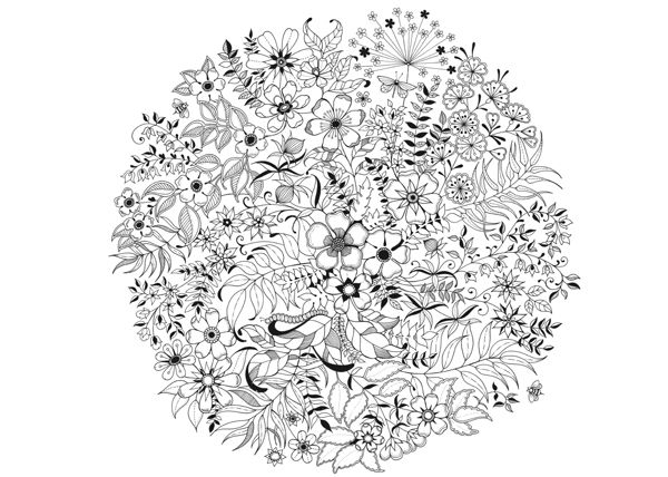 Johanna Basford Pesquisa Google Mandala Coloring Pages Garden Coloring Pages Mandala Coloring