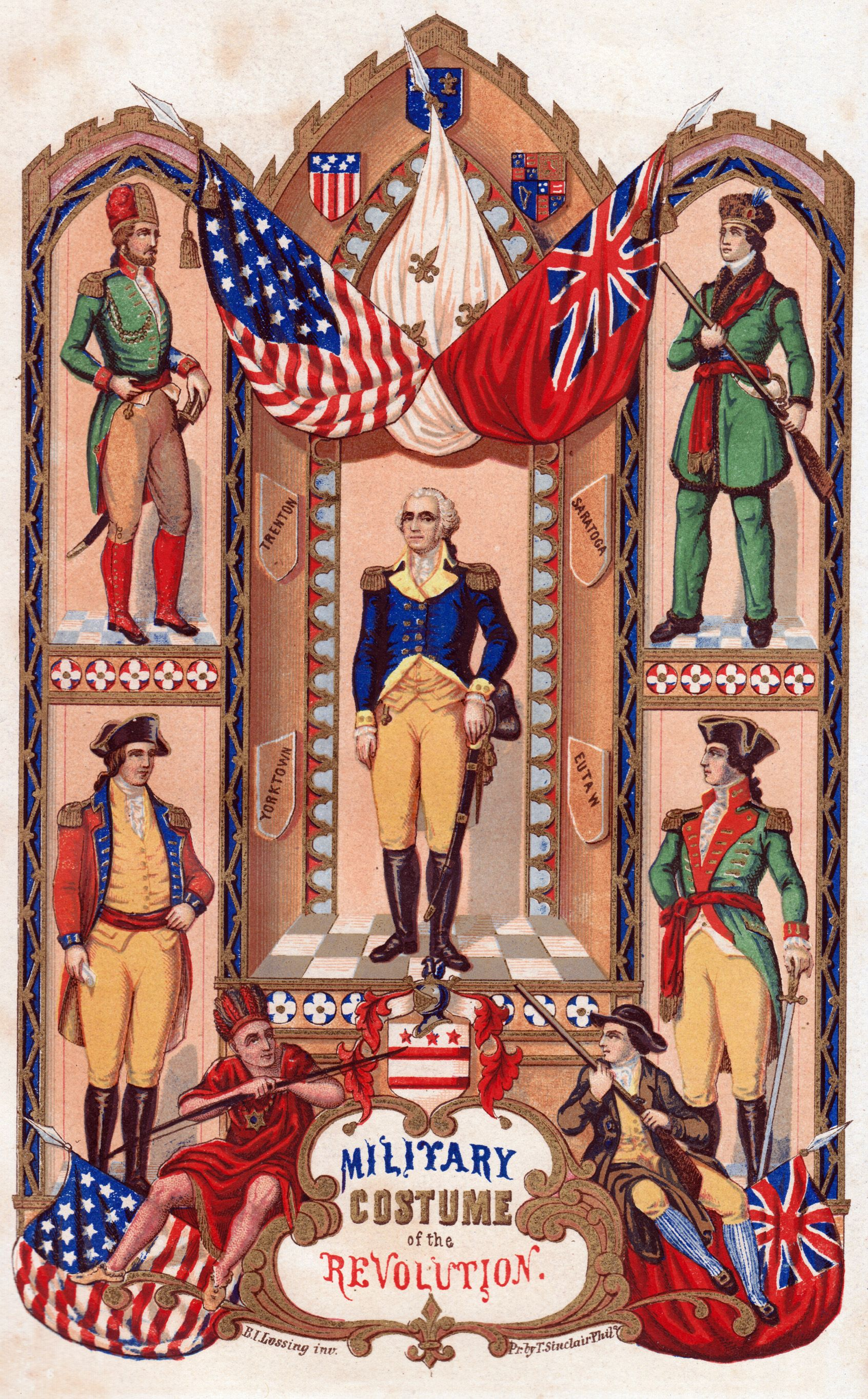 Military Uniforms Of The American Revolution
