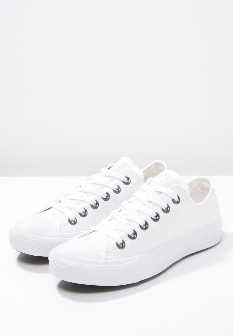 CHUCK TAYLOR ALL STAR OX - Baskets basses - white @ ZALANDO ...