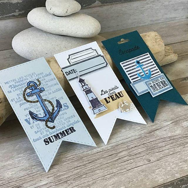 """Aurélies Grippe auf Instagram: """"Meine Kreationen mit der Sommerkapsel #florilegesdesign #scrapbooking #scrap #jesuisfdaddict #capsulefd"""""""