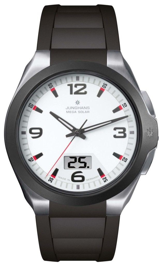 Junghans Force Mega Solar Watch With Wireless Charge And Sync Junghans Watch Junghans Solar Watch