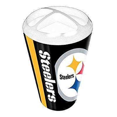 Bathroom Accessories Steelers | Get Pittsburgh Steelers NFL Polymer  Toothbrush Holder