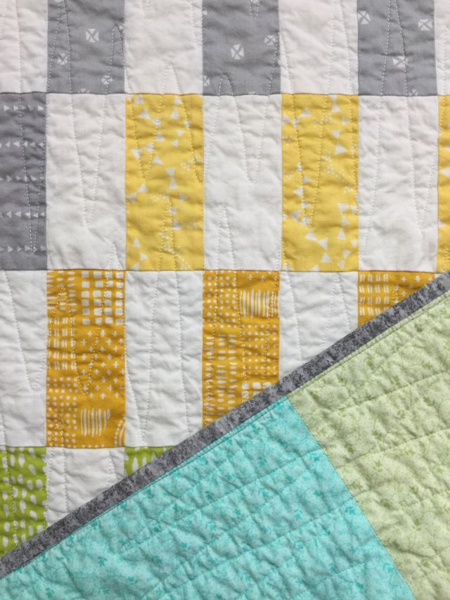 Finish It Up Friday Quick Baby Quilt Katyquilts Pinterest