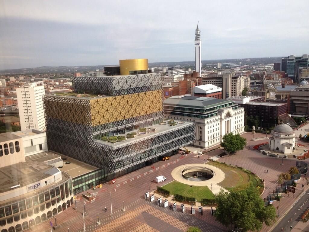 the New Library of Birmingham (Photo by Francine Houben