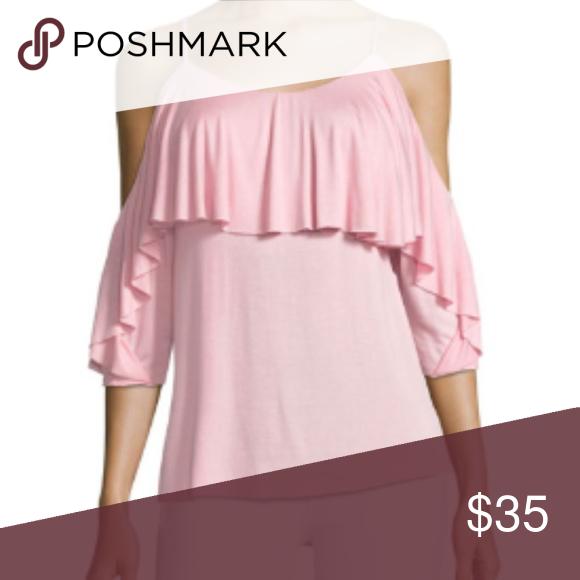 059df69a3247ee Pink Havana Cold Shoulder Top Pink Havana Cold Shoulder Top ▫️Pit To Pit   14.5