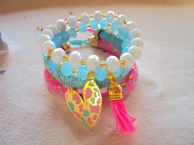Pulsera amor rosa - Comprar en accesoriosalmamistica