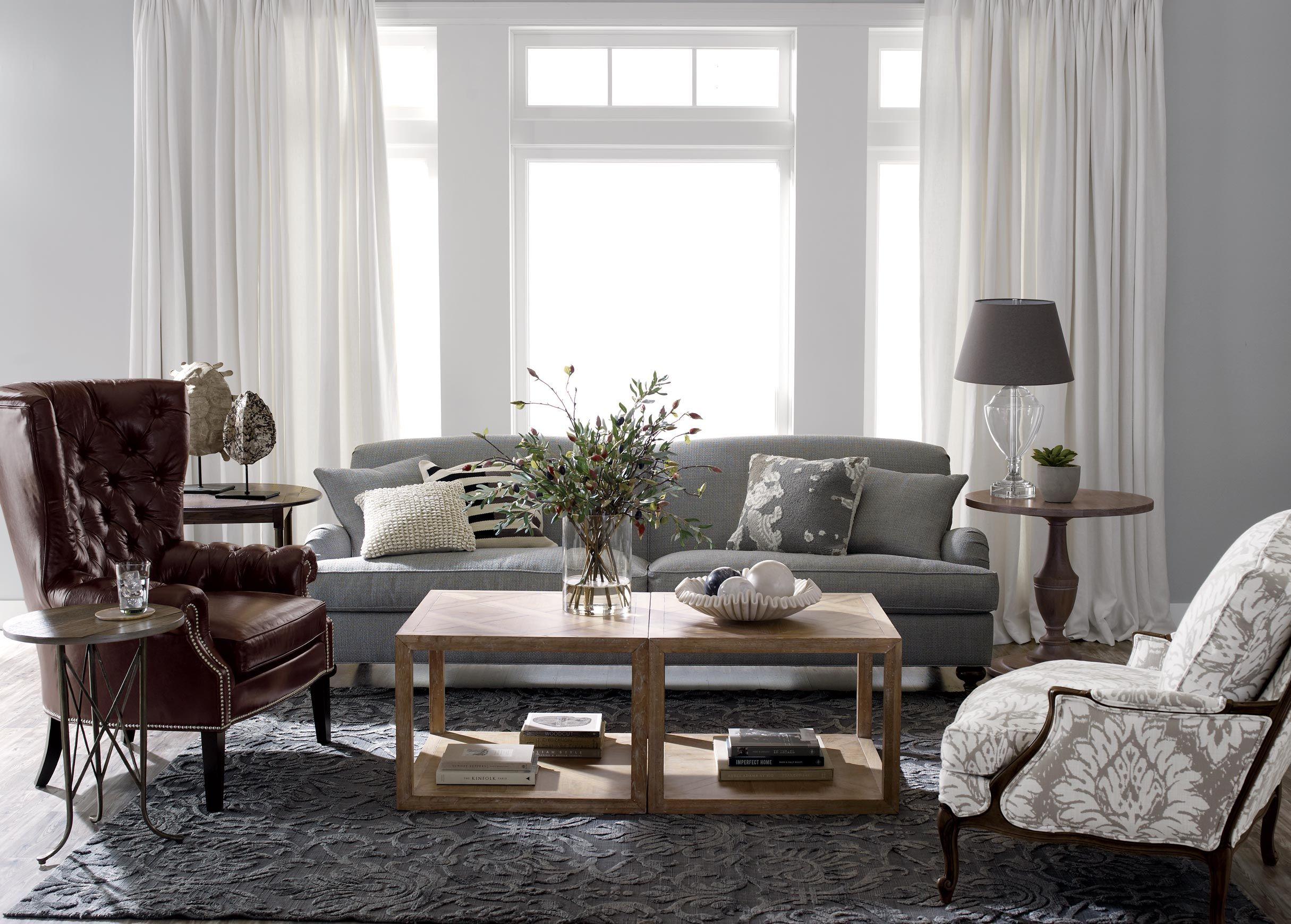 Ethan Allen Seats of Honor Living Room | http://www.ethanallen.com ...