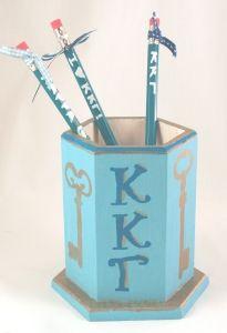 Kappa Kappa Gamma - Pencil Cup - DIY Greek