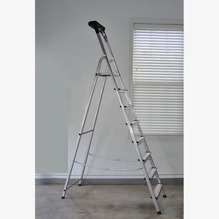 Terrific Leifheit German Aluminum Step Ladder Romeo And Juliet Cjindustries Chair Design For Home Cjindustriesco