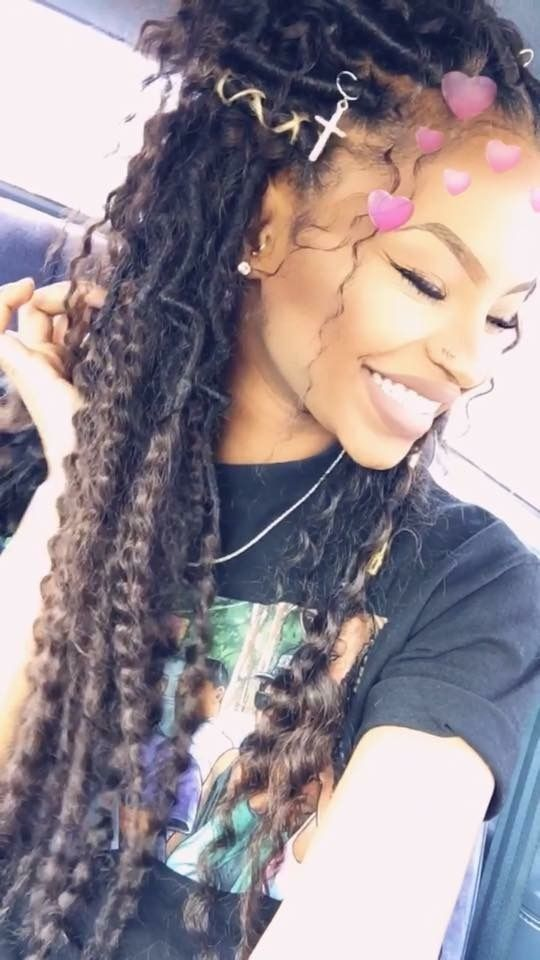 Goddess Locs Hair Inspiration Faux Locs Hairstyles