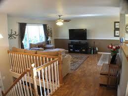 Bi level living room google search bi level love hate for Split level living room ideas