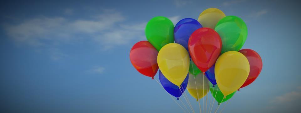 baloons blender 3d