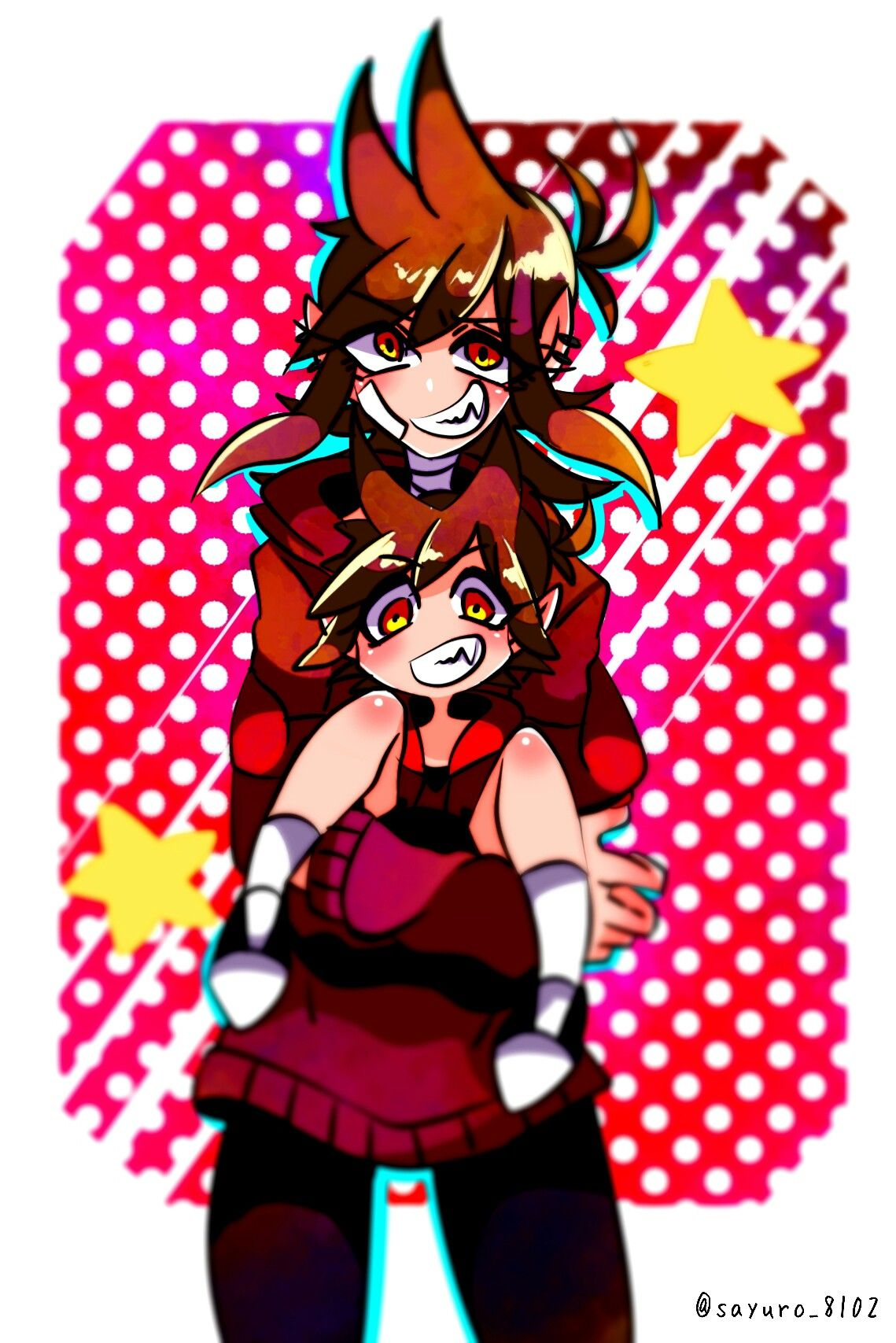 Don't know if that's tomtord or tordtom but       it's cute