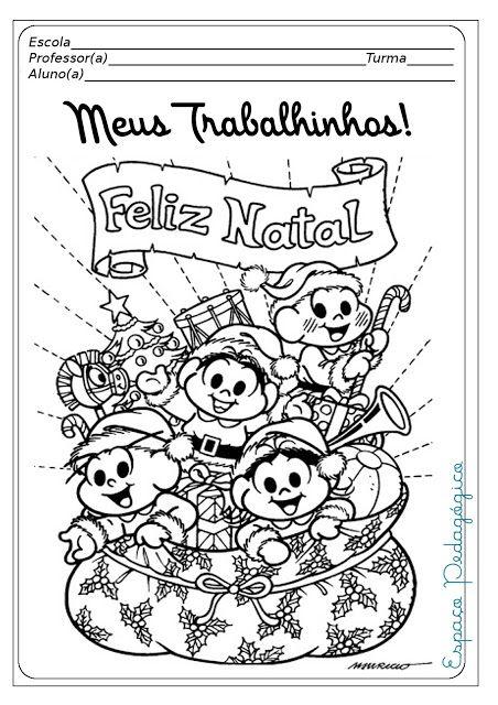 Jardim Da Tia Di Capas De Provas Prontas Para O Natal Com A Turm Atividades Natalinas Educação Infantil Atividades De Natal Atividades Para Educação Infantil