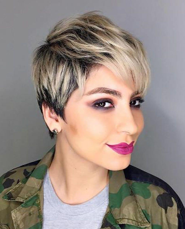 Kurzhaarfrisuren Kurzhaarschnitte Haarfarben 2018 1 Hair