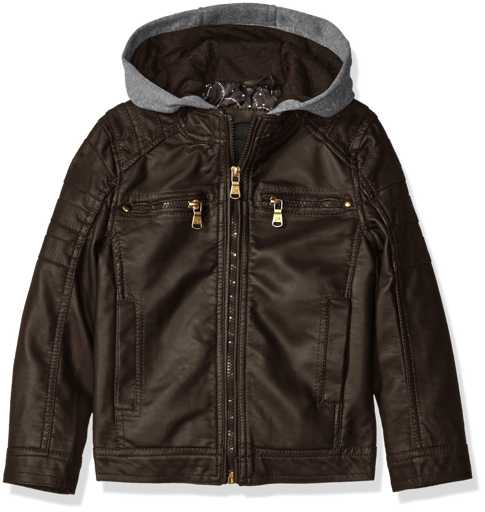 Urban Republic Little Boys' Faux Leather Jacket with