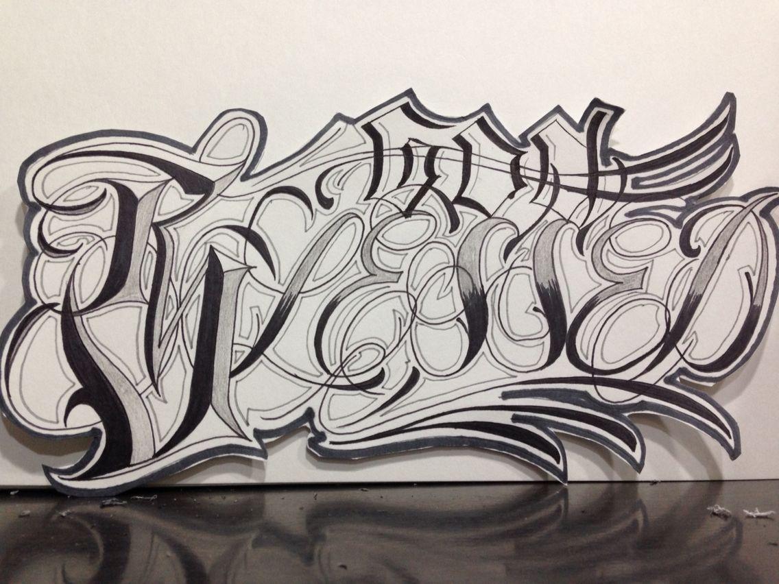 Tato Art Styles: Tattoo Fonts, Writing Tattoos, Lettering