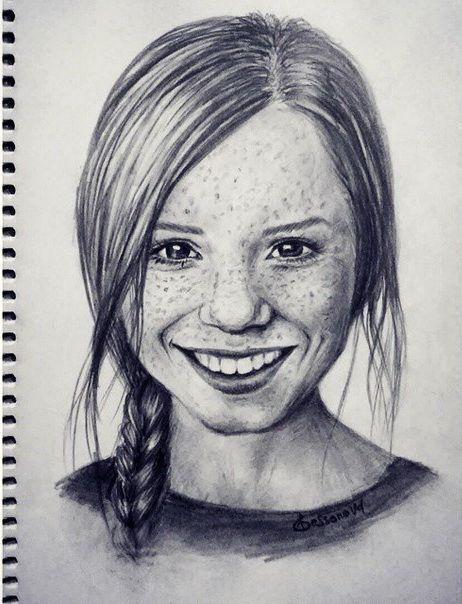 #smile #happy #woman #portrait #art #artist #artistic # ...
