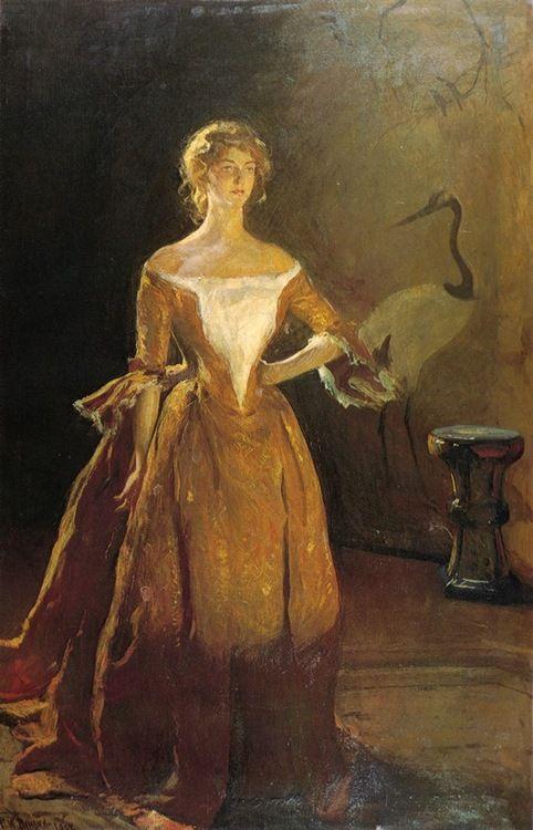 Portrait of Mary Sullivan - Frank Weston Benson 1902