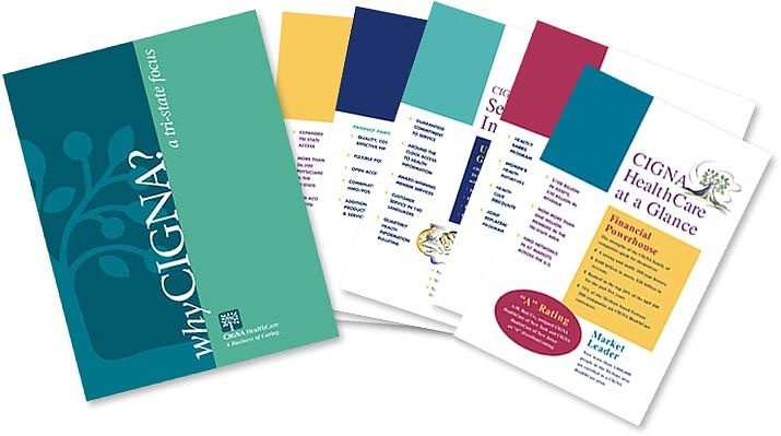 Brochure design - color blocking Collateral Design Pinterest - healthcare brochure