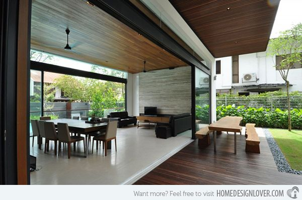 Sunset Terrace An Impeccable Modern Bungalow In Singapore