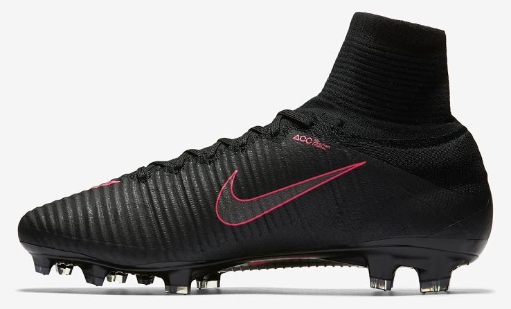 Black / Pink Nike Mercurial Superfly V 2016-2017 Boots Revealed - Footy Headlines