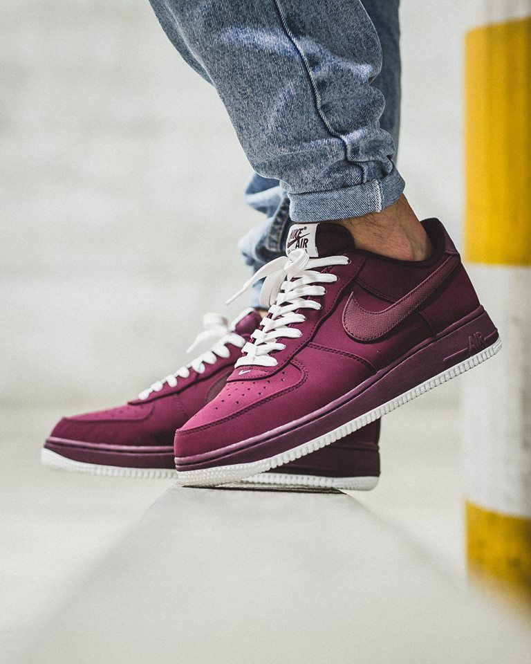 f042ed7d6582 Nike Air Force 1 Low - Night Maroon   Night Maroon - Sail