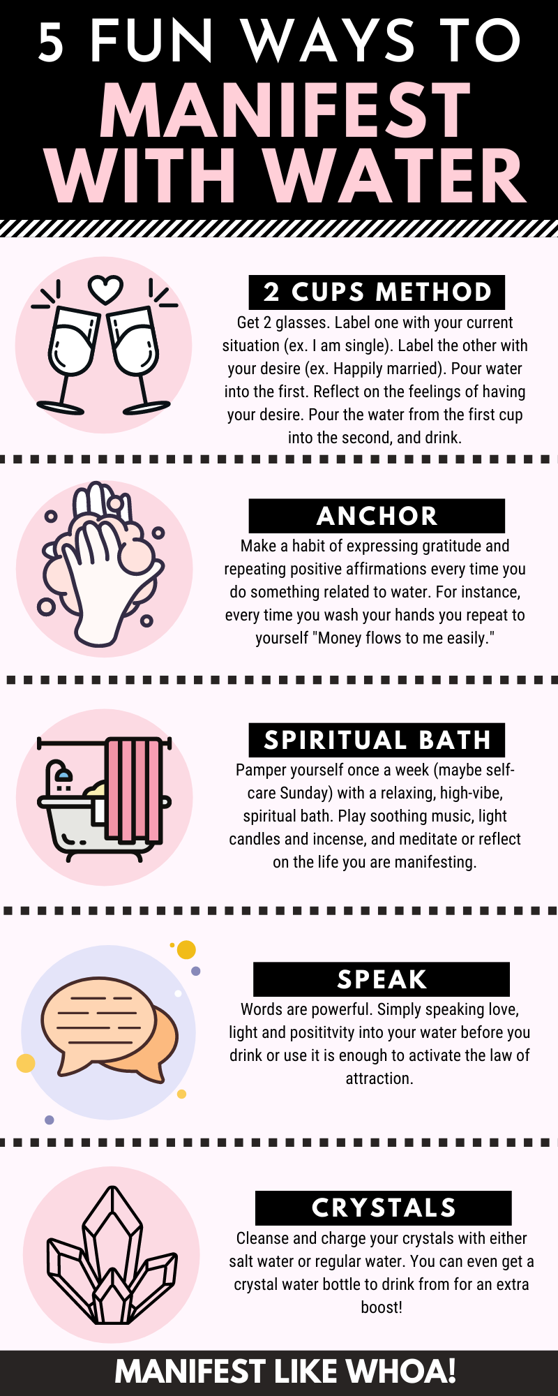 5 Top-Secret Ways To Manifest With Water Overnight