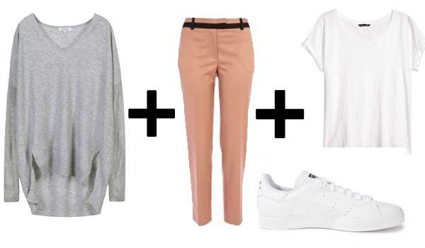 3850dfdbe190c5 Comment porter le pantalon cigarette? Idées de tenues   grâce ...