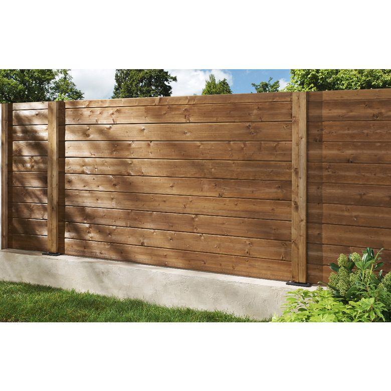 Bien choisir votre sol de terrasse et votre cl ture de - Panneaux de separation pour exterieur ...