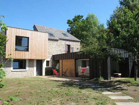 Double greffe à Vannes (56)  extension et surélévation bois