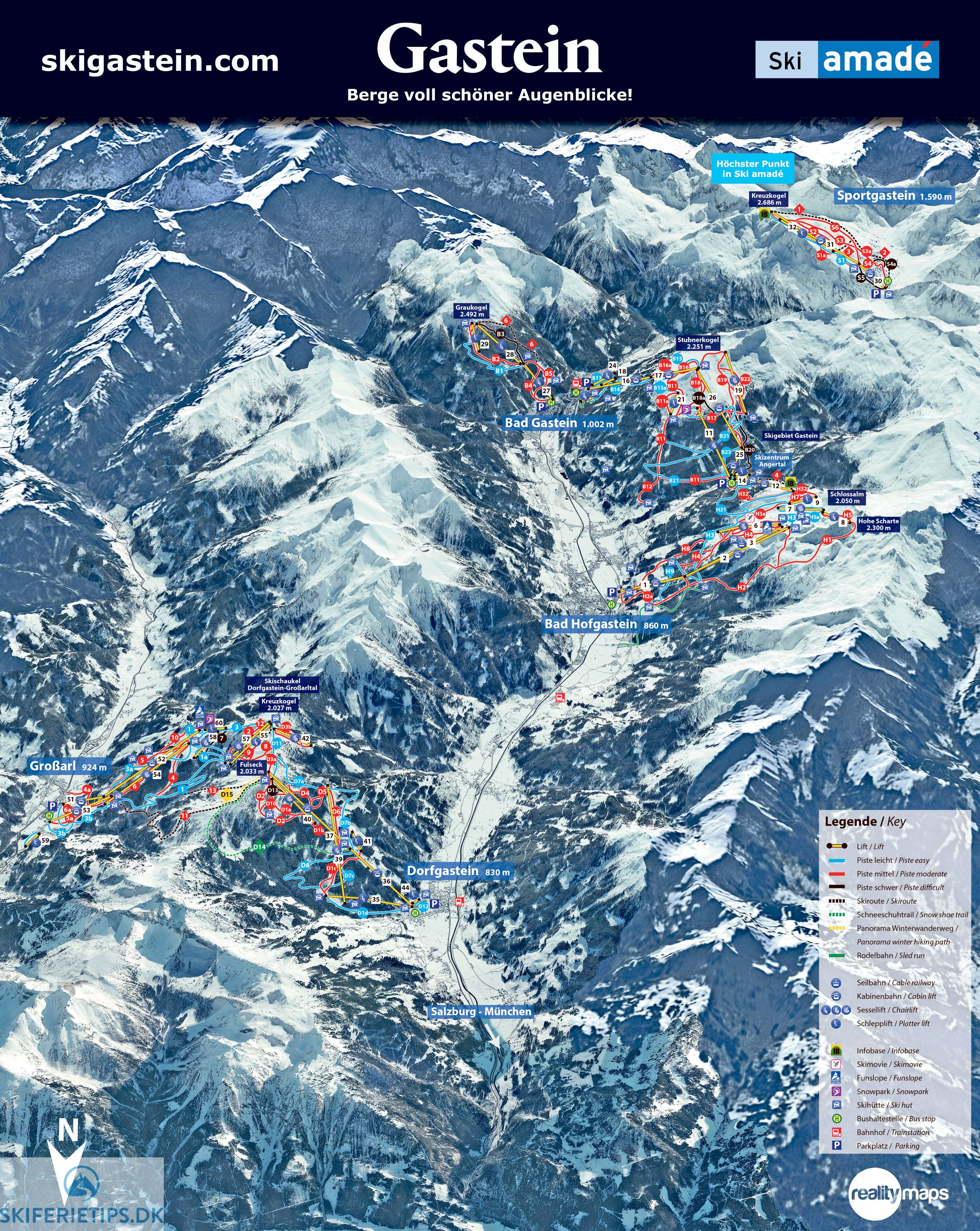 Pin On Piste Maps 18 19