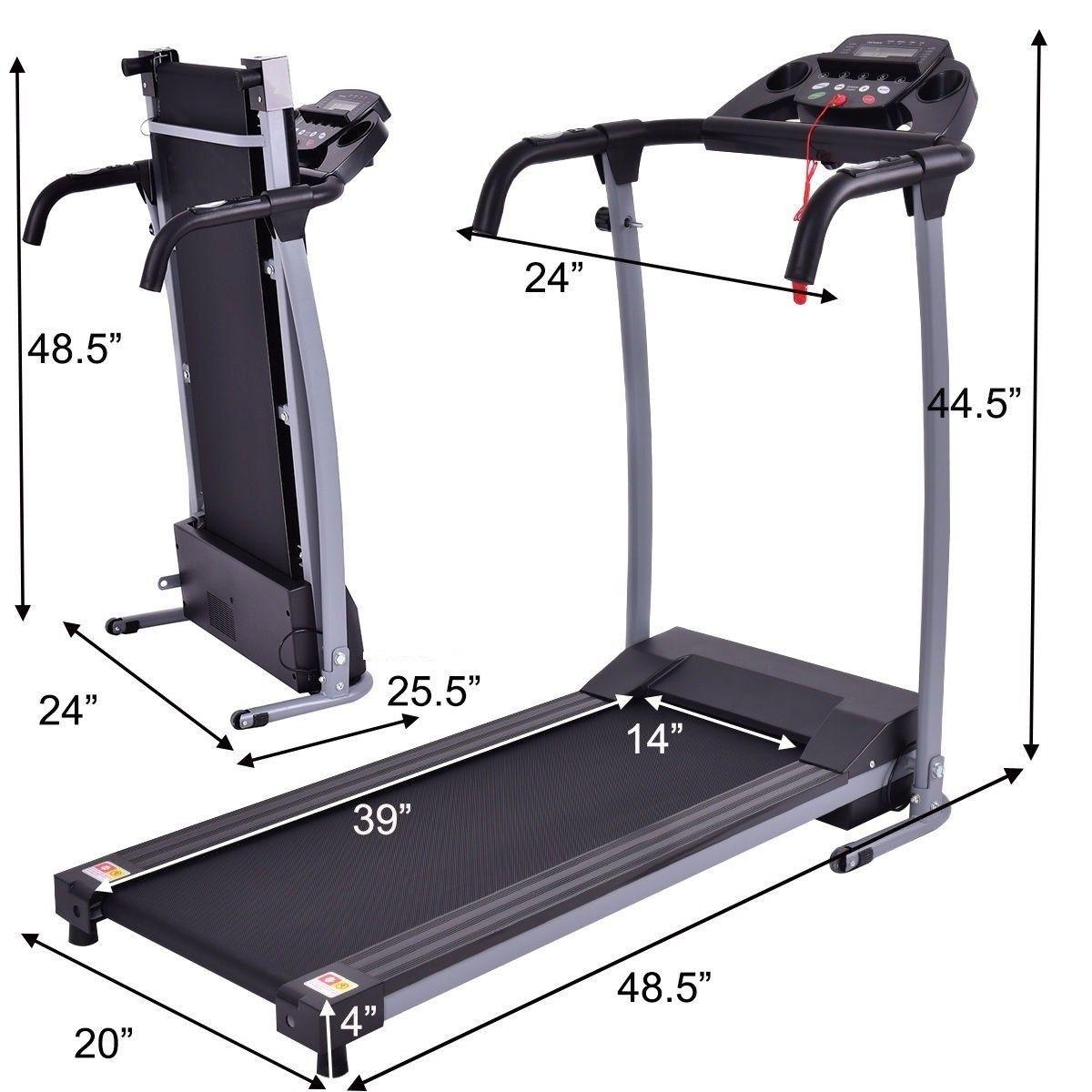 800 W Folding Fitness Treadmill Running Machine Running