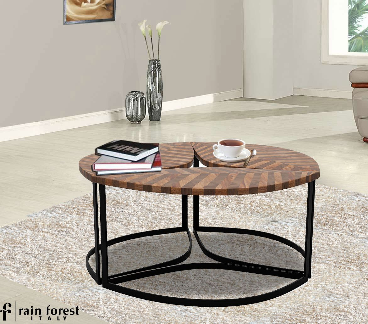 Leafe affair wooden coffee table you will not find online itus a