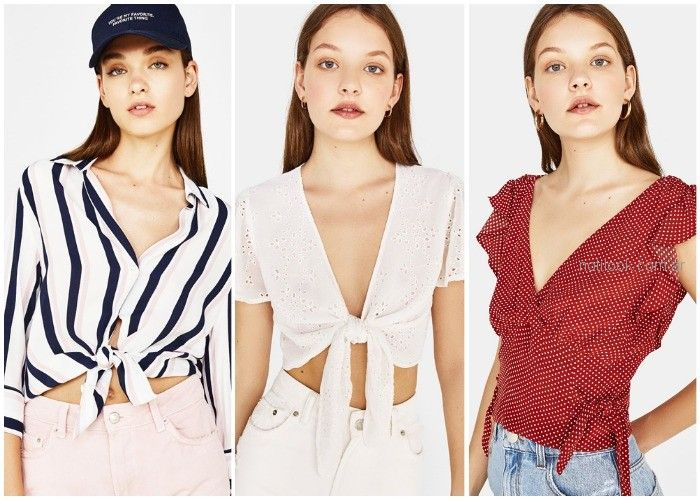 Nudos. Ropa de moda primavera verano 2019 – Tendencias ...