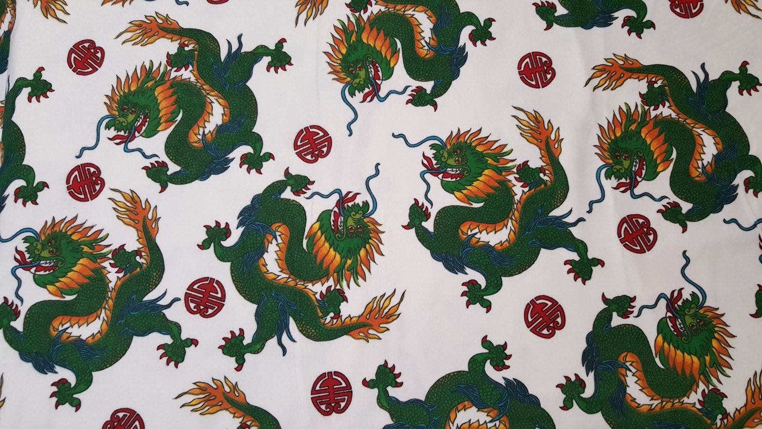 Marcus Brothers Flannel Dragon fabric-44